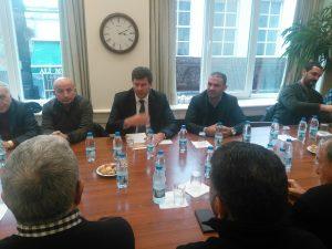 CHP Kadıköy İlçe Başkanlığı, Kadıköy Belediyesi Başkan Adaylarından Av. Şerdil Dara Odabaşı'nın Kadıköy Tarihi Çarşısı Derneğimizi ziyareti
