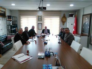 Kadıköy Tarihi Çarşısı Derneği'nden Kapalı Çarşı Yönetim Kuruluna ziyaret