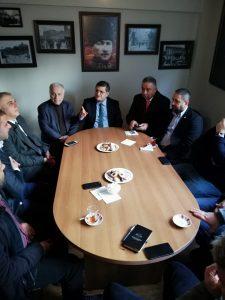 Kadıköy İlçe Kaymakamı ve Emniyet Müdüründen, Kadıköy Tarihi Çarşısı Derneğine Yılbaşı Ziyareti
