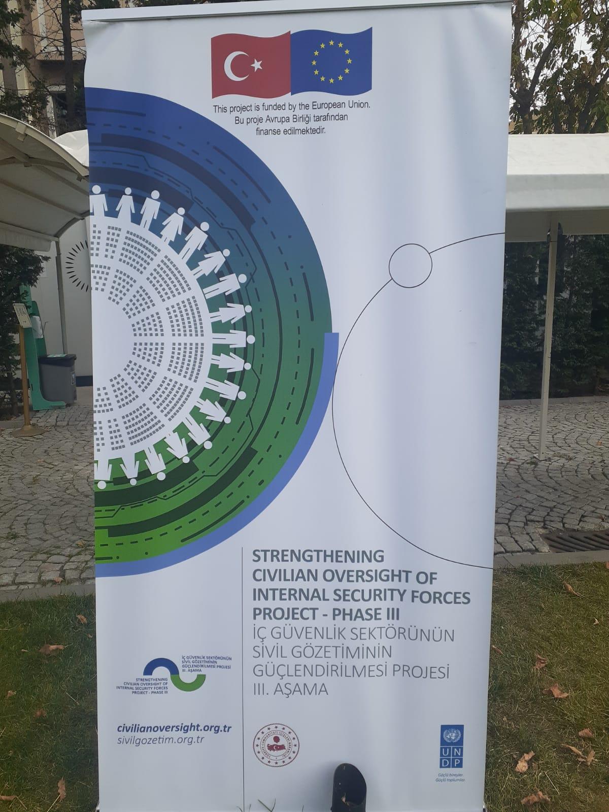 Derneğimiz , Avrupa Birliği tarafından finanse edilen , iç güvenlik sektörünün sivil gözetiminin güçlendirilmesi projesi 3.cü aşaması çalıştayına katıldı